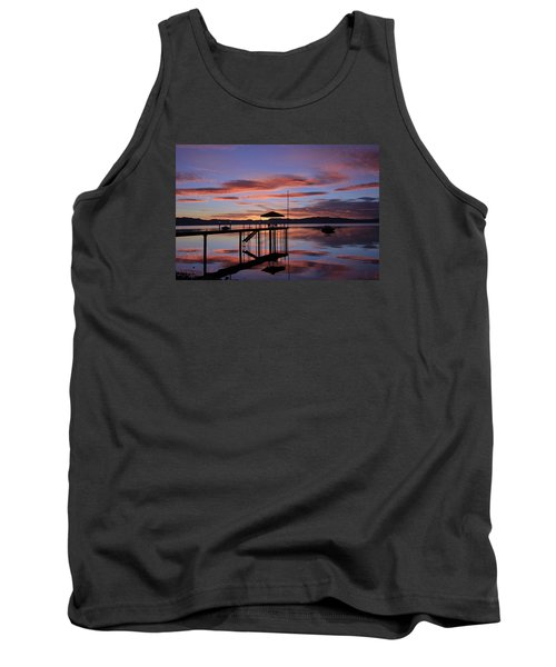 Tank Top featuring the photograph A Sunrise To Wake The Dead  by Sean Sarsfield