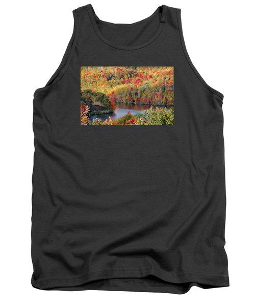 A Tennessee Autumn Tank Top by Debbie Karnes