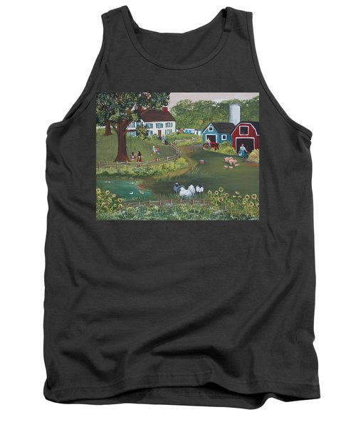 A Time To Play Tank Top by Virginia Coyle