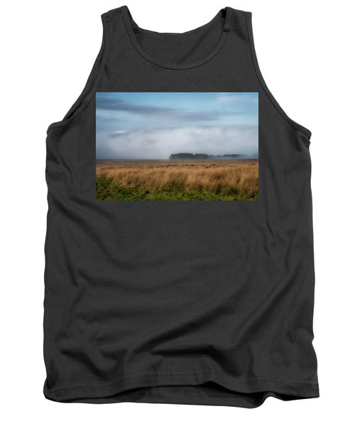 Tank Top featuring the photograph A Touch Of Snow by Jeremy Lavender Photography