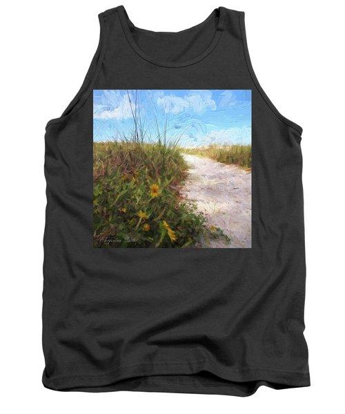 A Trail To The Beach Tank Top