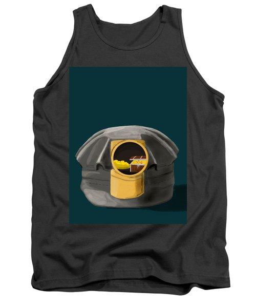A Treasure Inside The Miners Helmet Tank Top