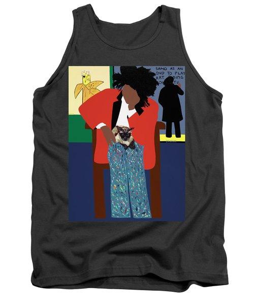 A Tribute To Jean-michel Basquiat Tank Top