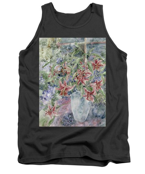 A Vase Of Lilies Tank Top