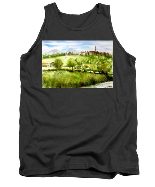 A View From Tuscany Tank Top