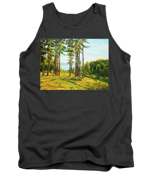 A View To The Lake Tank Top