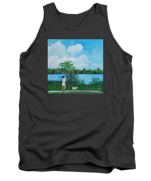 A Walk Along The River Tank Top