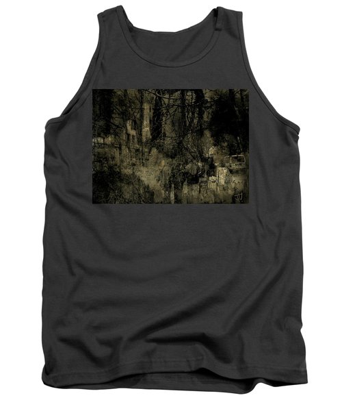 Tank Top featuring the photograph A Walk In The Park by Jim Vance
