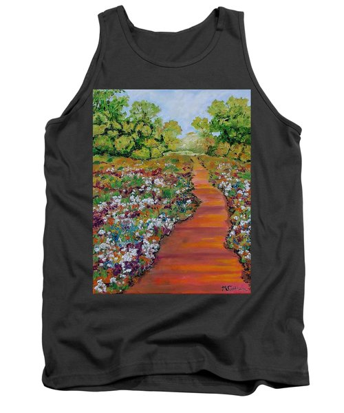 A Walk In The Park Tank Top by Mike Caitham
