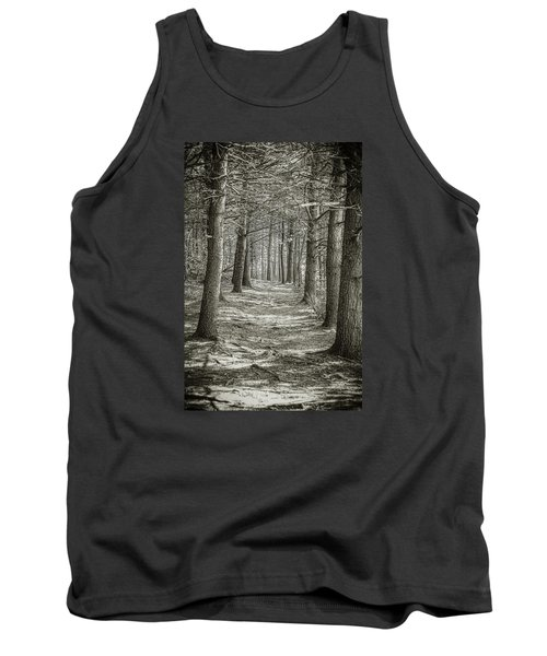 Tank Top featuring the photograph A Walk In Walden Woods by Ike Krieger