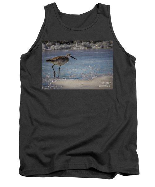 A Walk On The Beach Tank Top