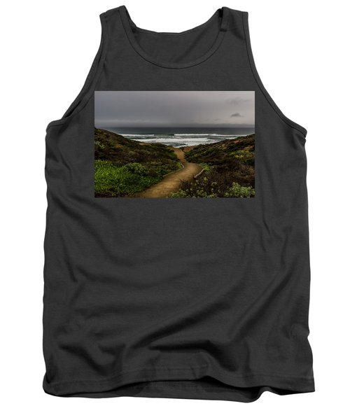 A Walk To The Beach Tank Top