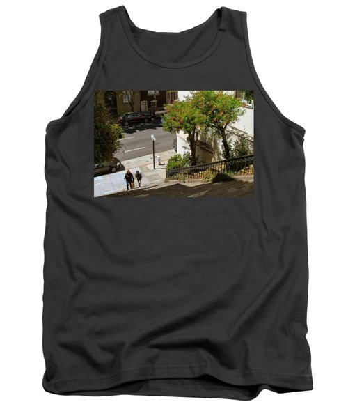 A Walk Up Joice St Steps Tank Top