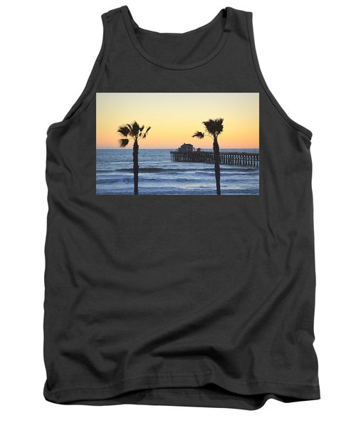 Tank Top featuring the photograph A Warmer Place To Be by AJ Schibig