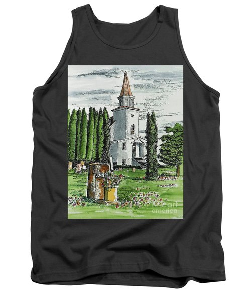 Tank Top featuring the painting A Wisconsin Beauty by Terry Banderas