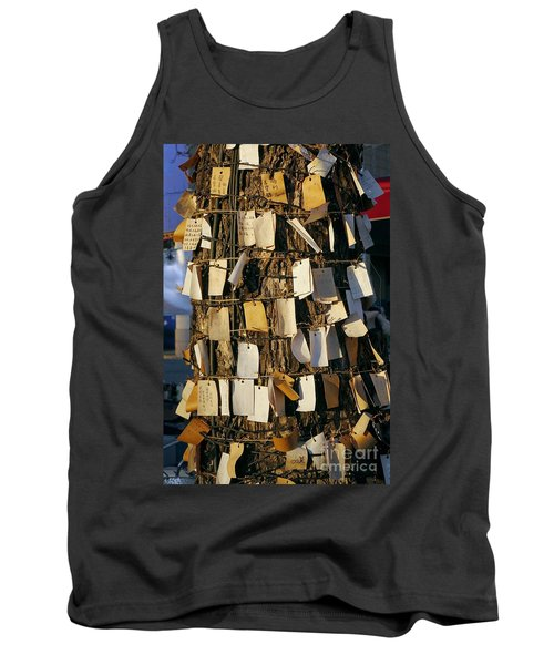 A Wishing Tree With Many Requests Tank Top by Yali Shi