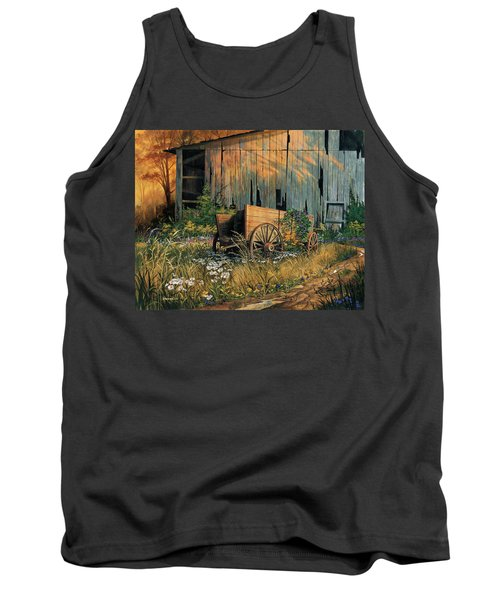 Abandoned Beauty Tank Top by Michael Humphries
