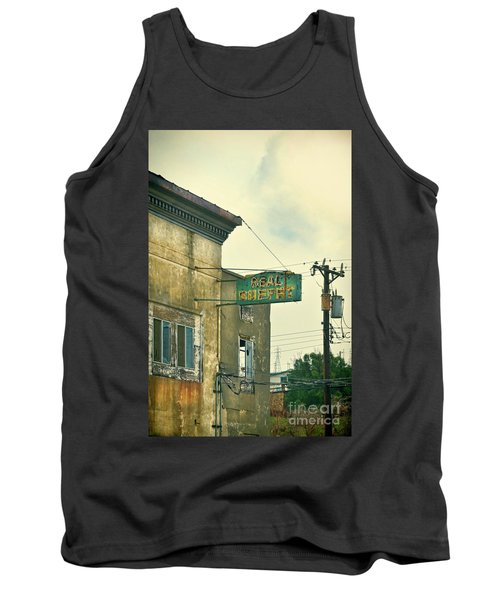 Tank Top featuring the photograph Abandoned Building by Jill Battaglia
