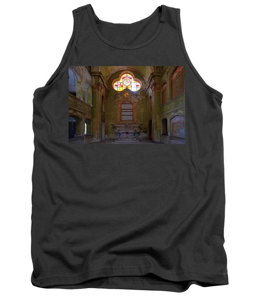 Abandoned Chapel Of An Important Liguria Family I - Cappella Abbandonata Di Famiglia Ligure 1 Tank Top