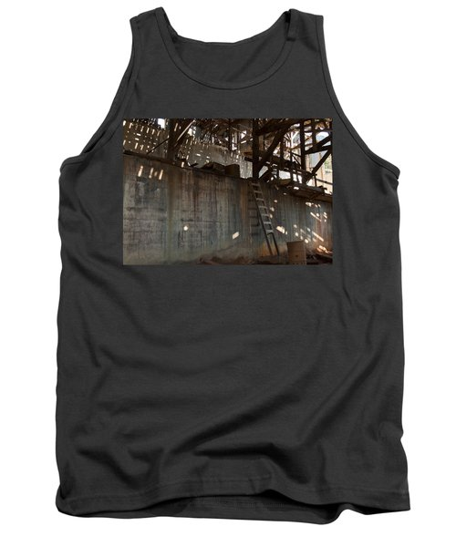 Tank Top featuring the photograph Abandoned by Fran Riley