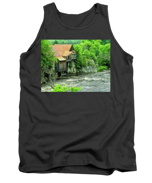 Abandoned Home By The River Tank Top