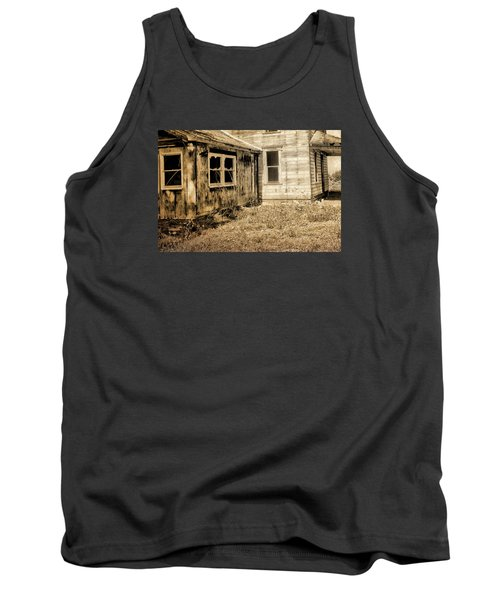 Abandoned House 3 Tank Top by Bonnie Bruno