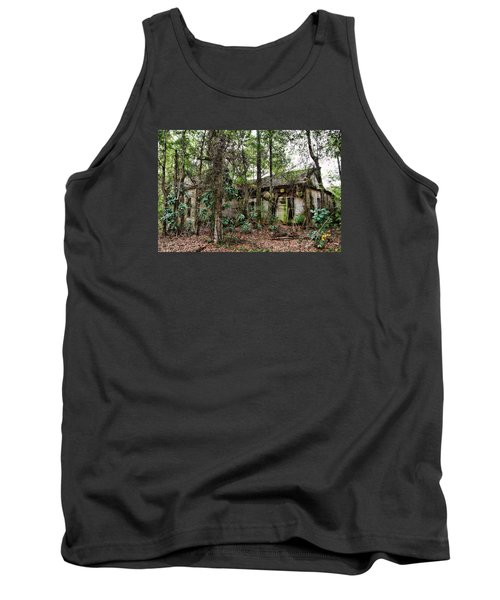 Abandoned House In Alabama Tank Top by Lynn Jordan