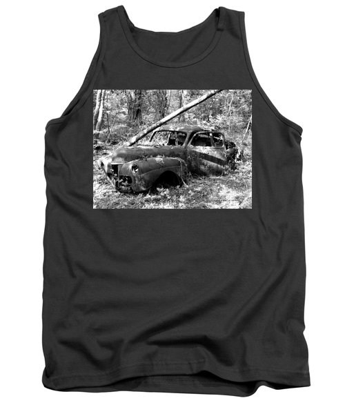 Abandoned Tank Top by Mark Alan Perry