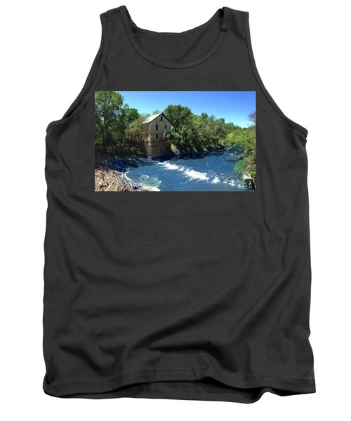 Abandoned Mill At Cedar Point Tank Top by Rod Seel