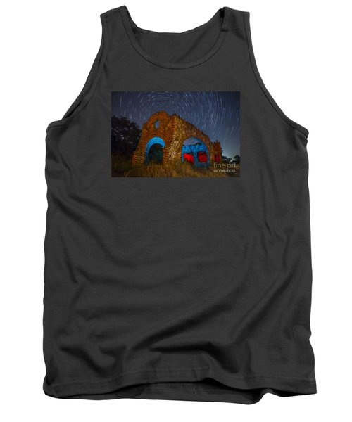 Tank Top featuring the photograph Abandoned Outlaw Gas Station by Keith Kapple