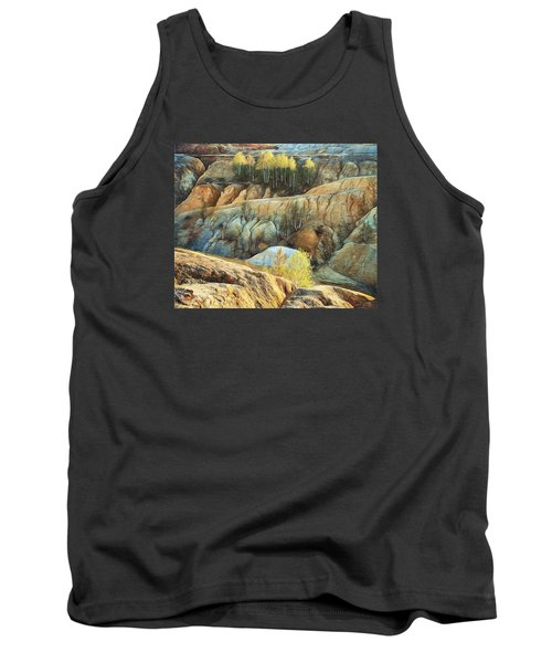 Tank Top featuring the photograph Abandoned Quarry 2 by Vladimir Kholostykh