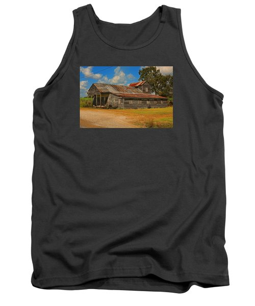 Abandoned Store Tank Top by Ronald Olivier
