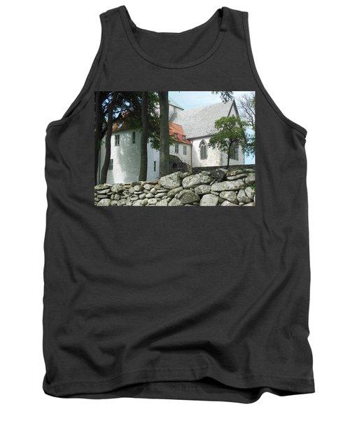 Abbey Exterior #2 Tank Top by Susan Lafleur