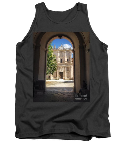 Abbey Of The Holy Spirit At Morrone In Sulmona, Italy Tank Top