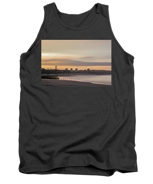 Aberdeen Beach At Sunset Tank Top