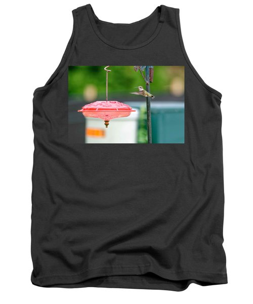 About To Land Tank Top