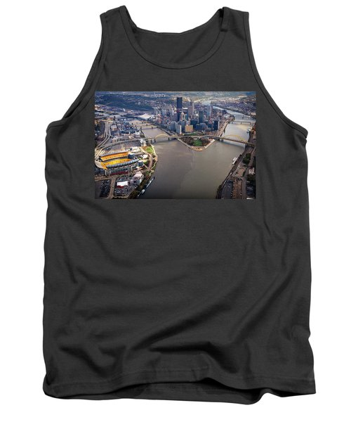 Above Pittsburgh In  Color  Tank Top