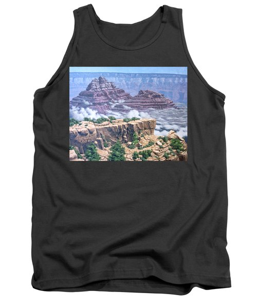Above The Clouds Grand Canyon Tank Top by Jim Thomas