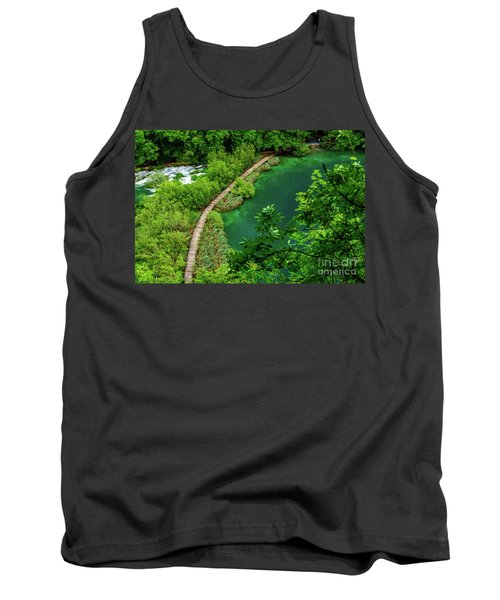 Above The Paths At Plitvice Lakes National Park, Croatia Tank Top
