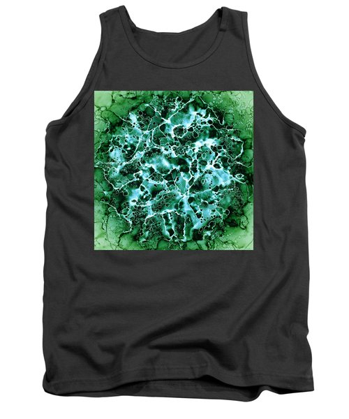 Abstract 3 Tank Top by Patricia Lintner