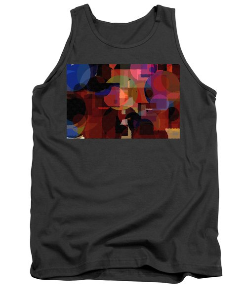 Abstract 33017-2 Tank Top by Maciek Froncisz
