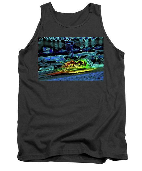 Abstract Carriage Ride Tank Top
