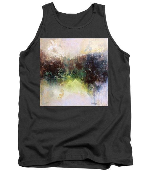 Abstract Contemporary Art Tank Top by Patricia Lintner