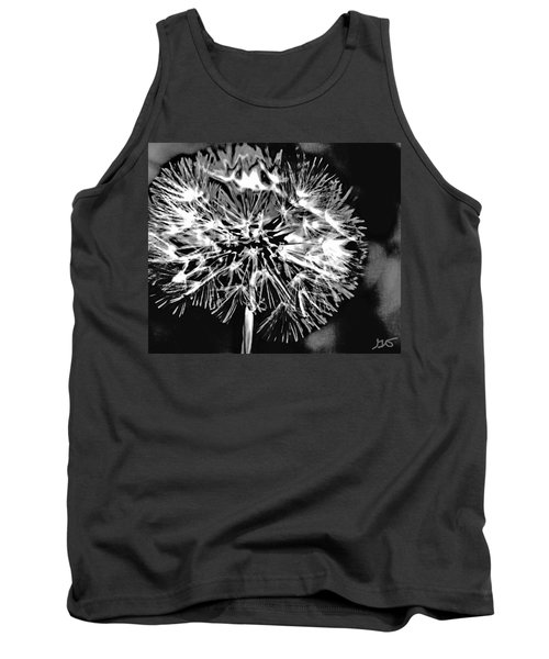 Abstract Dandelion Tank Top