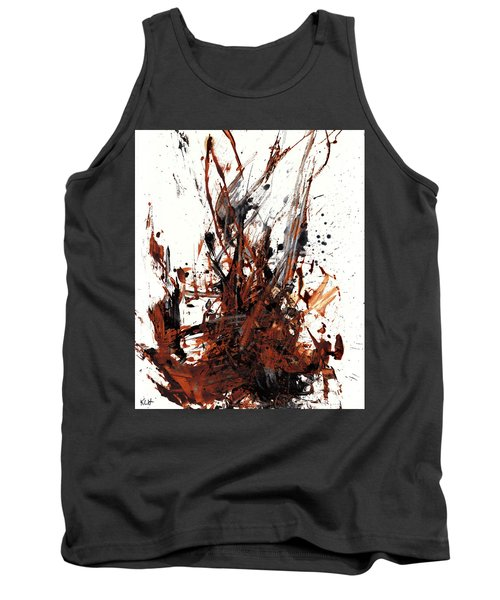 Abstract Expressionism Painting 50.072110 Tank Top by Kris Haas