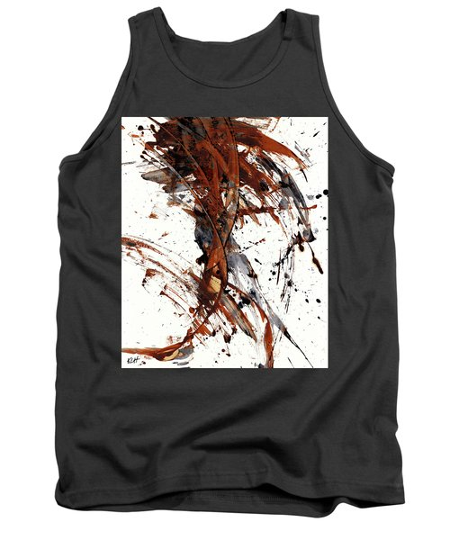 Abstract Expressionism Series 51.072110 Tank Top by Kris Haas
