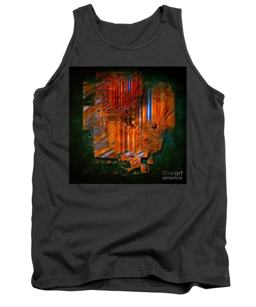 Abstract Fields Tank Top