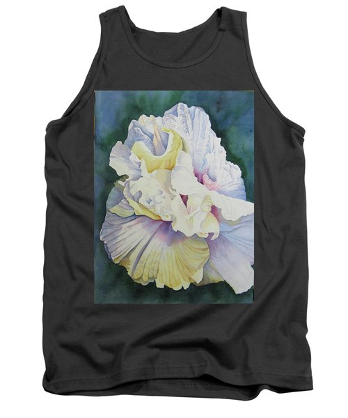 Tank Top featuring the painting Abstract Floral by Teresa Beyer