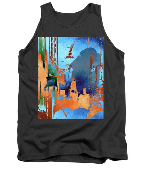 Abstract  Images Of Urban Landscape Series #1 Tank Top