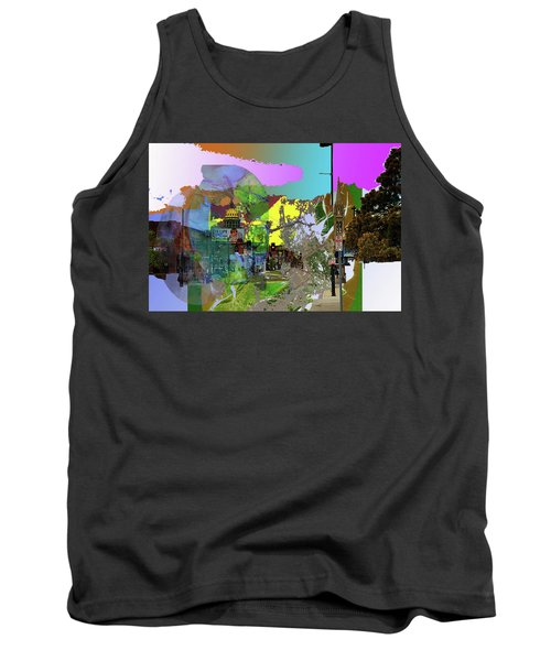 Abstract  Images Of Urban Landscape Series #5 Tank Top